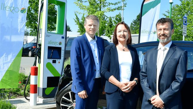 Allego eröffnet HPC-Station mit 350 kW in Hamburg