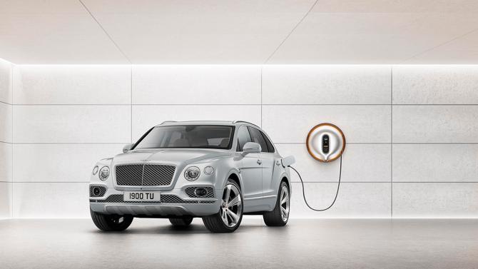 Bentley: Bis 2023 alle Modelle als Hybrid erhältlich