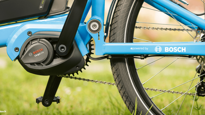 Bosch bietet neue E-Bike-Antriebe für Lastenräder