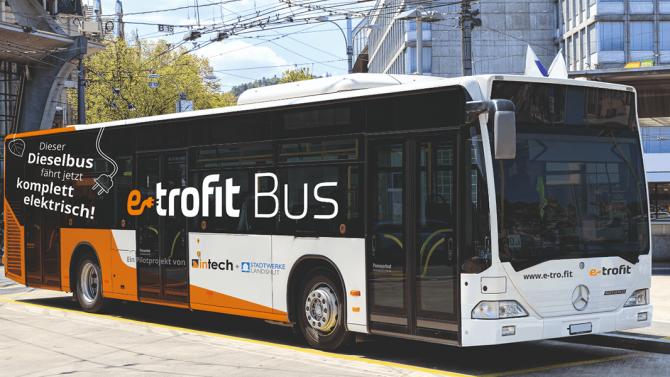 E-Umrüstung von Dieselbussen: e-troFit wird eigenständig