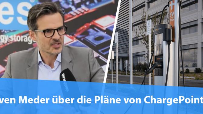 Interview mit Sven Meder über die Pläne von ChargePoint