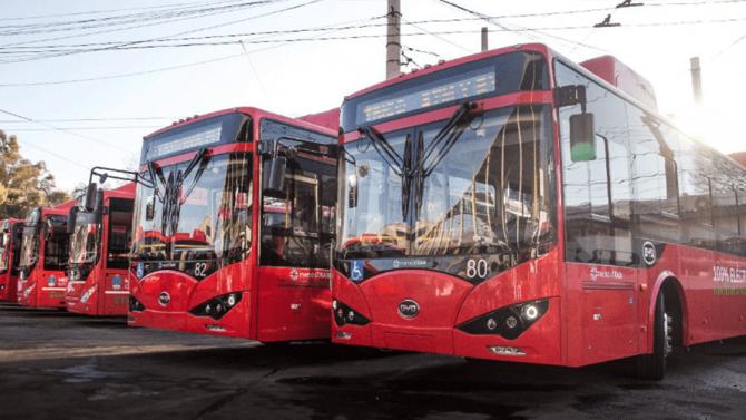 Mendoza: Erste reine E-Bus-Flotte Argentiniens in Betrieb