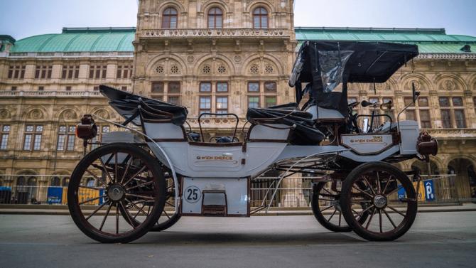 Durch Wien mit der Elektro-Kutsche