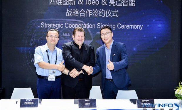 Ibeo Automotive Systems kooperiert mit NavInfo und LiangDao Intelligence