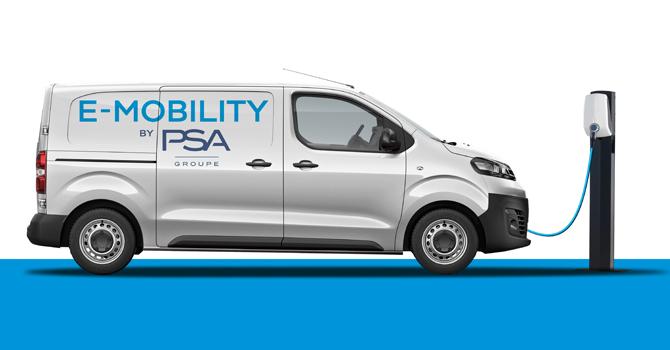 PSA bestätigt E-Versionen für Peugeot Expert und Citroën Jumpy