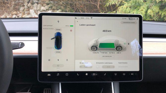 Tesla plant offenbar mehrere wählbare Warntöne