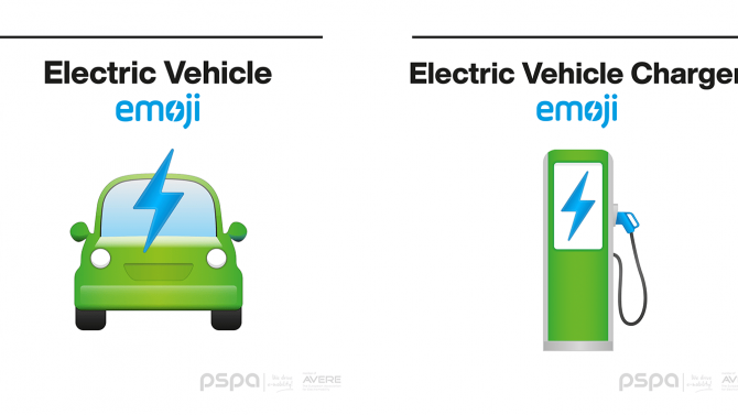 Neuer Vorschlag für E-Auto- und Lade-Emoji