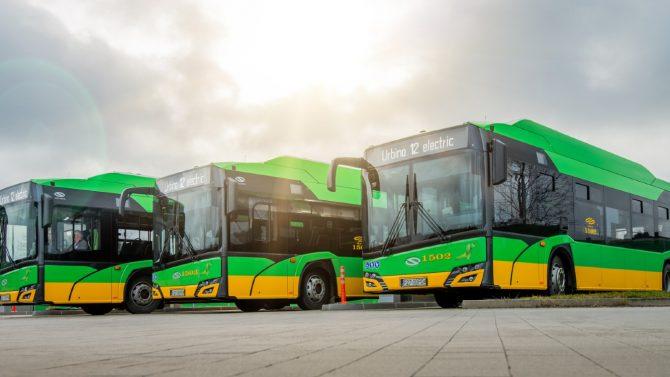 MPK Poznań bestellt 37 E-Busse bei Solaris