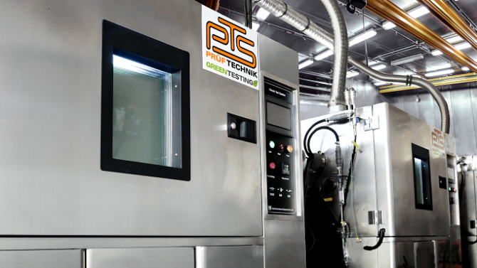 PTS-Prüftechnik eröffnet Batterietestzentrum in Schwaben