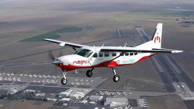 US-Unternehmen melden Erstflug von bisher größtem E-Flugzeug