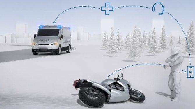 Bosch bringt den automatischen Notruf ins Motorrad