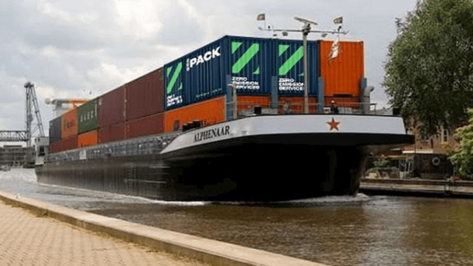 Niederlande: Austauschbare Batterien für Binnenschiffe