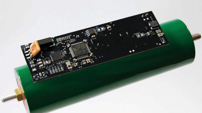 Batterie mit Köpfchen