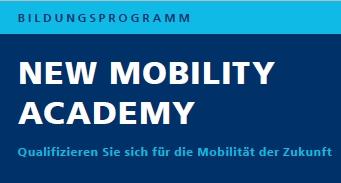New Mobility Academy – aktuelle Termine