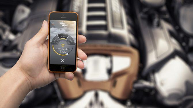 Leistungssteigerung per Smartphone-App