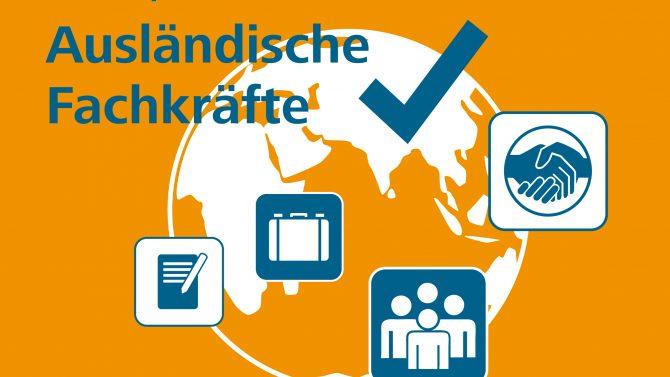 Ausländische Fachkräfte – neues Talente-Themenheft und Talente-Forum